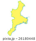 三重県地図 26180448