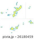 沖縄県地図 26180459