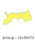 鳥取県地図 26180474