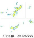 沖縄県地図 26180555
