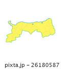 鳥取県地図 26180587