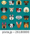 動物 犬 大型犬のイラスト 26180800