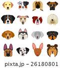 動物 犬 大型犬のイラスト 26180801