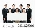 ビジネスマン 若い ホワイトボードの写真 26182500