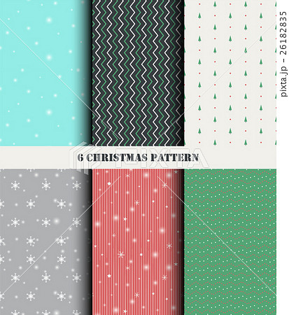 Christmas Seamless Patternのイラスト素材 [26182835] - PIXTA