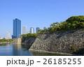 大坂城外堀と大阪ビジネスパーク 26185255