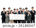 ビジネスマン ビジネスウーマン ホワイトボードの写真 26186047