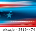 Abstract bright background with stars 26194474