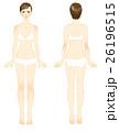 イラスト 女性 美容 全身 26196515