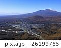 秋の軽井沢と浅間山/別荘地 26199785