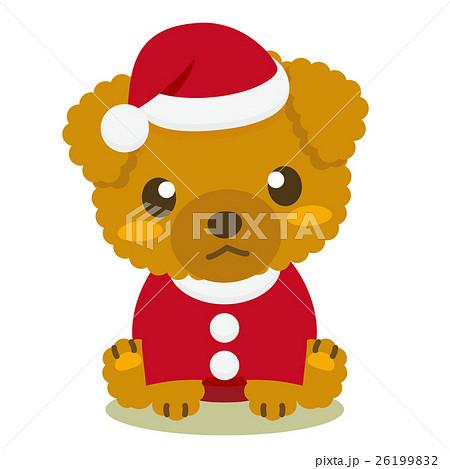 いぬっこ倶楽部 クリスマス トイプードル 26199832