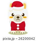 柴犬 犬 クリスマスのイラスト 26200042