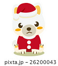 柴犬 犬 クリスマスのイラスト 26200043