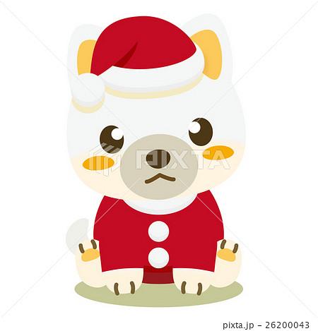 いぬっこ倶楽部 クリスマス 柴犬(白) 26200043