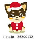 チワワ 犬 クリスマスのイラスト 26200132