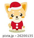 チワワ 犬 クリスマスのイラスト 26200135