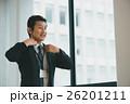 ビジネスマン 笑顔 ミドルの写真 26201211