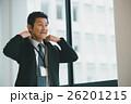ビジネスマン 笑顔 ミドルの写真 26201215