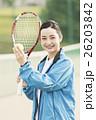 テニス 女性 ポートレートの写真 26203842