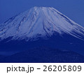 精進湖の富士 26205809