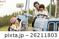 家族 女の子 運転の写真 26211803