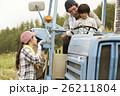 家族 女の子 運転の写真 26211804