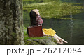 旅する女性 26212084