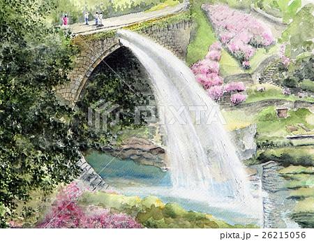 通潤橋の手書きスケッチ 26215056