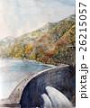 黒四ダムの手書きスケッチ 26215057