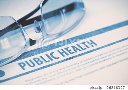 Diagnosis - Public Health. Medical Concept. 3D 26218397