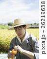 人物 男性 米農家の写真 26219638