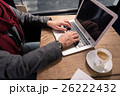 PC ノートパソコン 人の写真 26222432