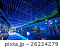 東京ドームシティ 夜景 イルミネーションの写真 26224279