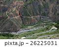 道路 山あい 渓谷の写真 26225031