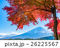 富士山 富士 紅葉の写真 26225567