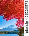 富士山 富士 紅葉の写真 26225573