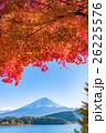 紅葉・富士山 26225576