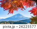 富士山 富士 紅葉の写真 26225577