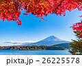 富士山 紅葉 秋の写真 26225578