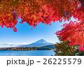 紅葉・富士山 26225579