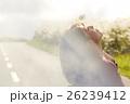 東北を観光する女性 26239412