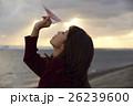 東北を観光する女性 26239600