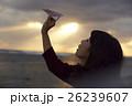 東北を観光する女性 26239607