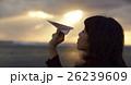 東北を観光する女性 26239609