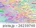 カラーの波線 26239740