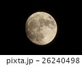 月 スーパームーン 満月の写真 26240498