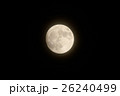 月 スーパームーン 満月の写真 26240499