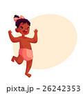 子供 女の子 女児のイラスト 26242353