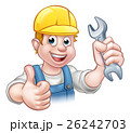 Mechanic or Plumber with Spanner 26242703