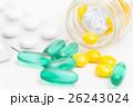 薬 錠剤 医薬品の写真 26243024